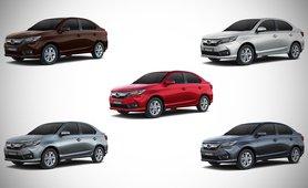 Honda Amaze review color option