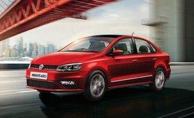 Volkswagen Vento front three quarters