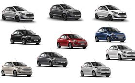 Ford Figo review color option