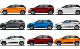 Hyundai Elite i20 color option