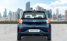 Hyundai Grand i10 Nios review rear view
