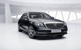 Mercedes-Benz S-Class obsidian black colour