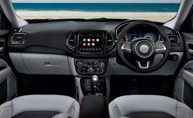 Jeep Compass interior dash