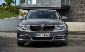 BMW 3 Series GT black front