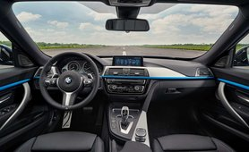 BMW 3 Series GT interior dashboard