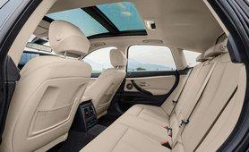BMW 3 Series GT interior rear seat