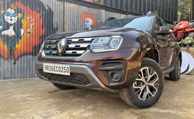 Renault Duster front angle