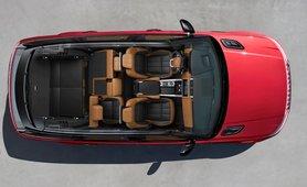 Range Rove Sport cabin layout