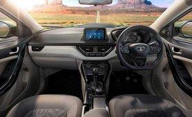 2020 Tata Nexon interior dashboard layout