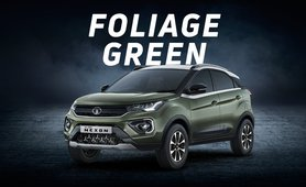 2020 Tata Nexon foliage green