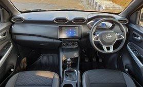 2020 Nissan Magnite interior dashboard layout