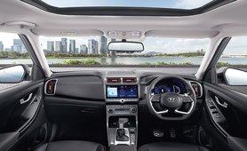 2020 Hyundai Creta interior dashboard layout