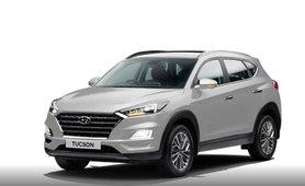 Hyundai Tucson Polar White 2020