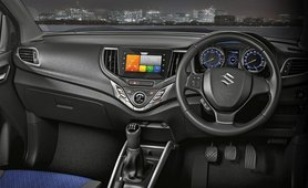 2021 maruti baleno interior dashboard