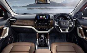 2021 Tata Harrier interior dashboard
