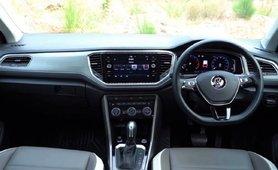 2021 Volkswagen T-Roc interior dashboard