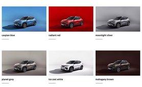 2021 Renault Kiger colours