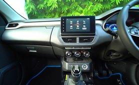 2021 Renault Kiger interior infotainment