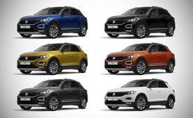 2021 Volkswagen T-Roc colours