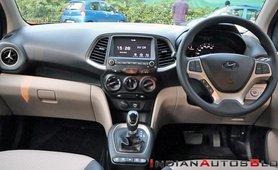 2021 Hyundai Santro interior dashboard