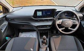 2021 Hyundai i20 interior dashboard