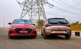 2021 Hyundai i20 front and rear