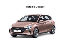 2021 Hyundai i20 Metallic Copper