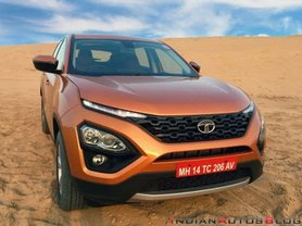 Tata Harrier Test Drive Review