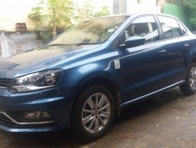 Well-kept Volkswagen Ameo 1.2 MPI Highline 16 Alloy for sale