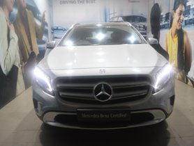 Used Mercedes Benz GLA Class car for sale at low price