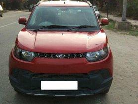Well-kept 2016 Mahindra KUV100 for sale