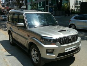 Well-kept Mahindra Scorpio S107 Seater 2014 for sale at best deal