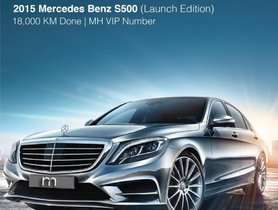 2015 Mercedes Benz S Class for sale