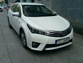 Used 2014 Toyota Corolla Altis car at low price in Pune
