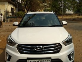 Good as new Hyundai Creta 2017 in Thane