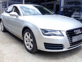 Used 2012 Audi A7 car at low price in Bangalore