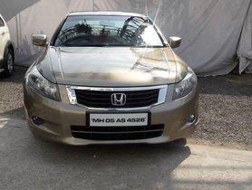 Used Honda Accord 2.4 MT 2010 in Pune