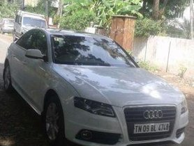 Used Audi A4 2.0 TDI 2011 for sale in Chennai