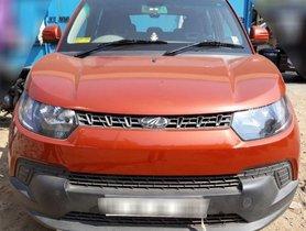 Used 2016 Mahindra KUV100 car at low price