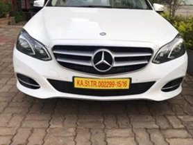Used 2016 Mercedes Benz E Class for sale in Bangalore