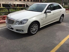 2010 Mercedes Benz E Class E250 CDI Avantgarde for sale