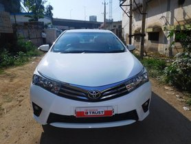 Good as new Toyota Corolla Altis 2015 for sale