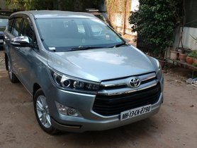 Used 2017 Toyota Innova Crysta for sale in Pune