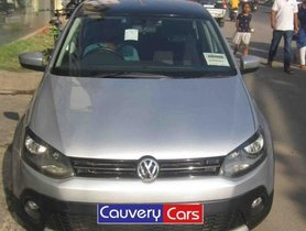 Used Volkswagen CrossPolo car at low price