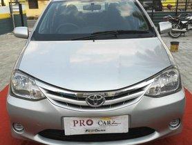 Used Toyota Platinum Etios 2013 for sale at low price