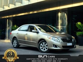 Used Toyota Corolla Altis G 2010 for sale