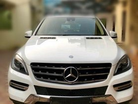 Good as new Mercedes Benz M Class ML 350 4Matic 2014 for sale