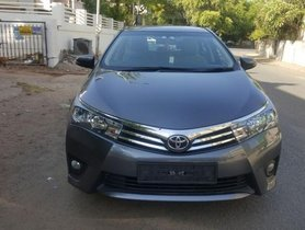Well-maintained Toyota Corolla Altis G MT 2015 for sale