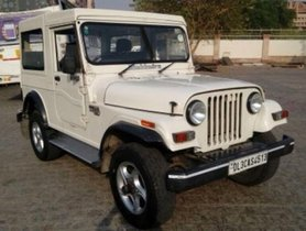 Used 2018 Mahindra Thar car at low price
