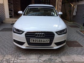 Used Audi A4 2.0 TDI Celebration Edition 2014 in Chennai